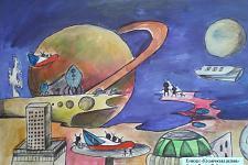 Автор: Басова Любовь   Космическая целина