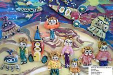 Автор: Бахтин Вова(6 лет),   Донских Никита (6 лет), Котов Андрей (5 лет), Попадьина Варя(6лет)   Космическая целина