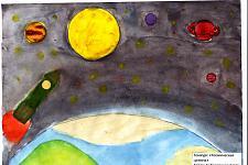 Автор: Соболевская Злата   Космическая целина