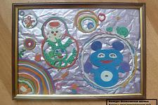 Автор: группа детей:Казакова Дарья, Белякова Илона, Фролова Марго, Шутеева Юлия    Космическая целина