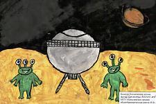 Автор: Саргабаева Кристина   Космическая целина