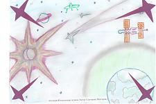 Автор: Сергиенко Вика   Космическая целина