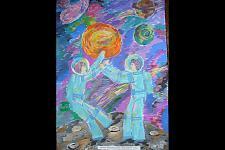 Автор: Рубулева Алина   Космическая целина