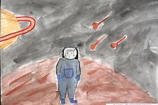 Автор: Ярахмедова Лейла   Космическая целина