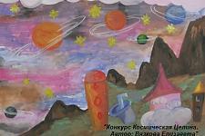 Автор: Вязкова Елизавета   Космическая целина