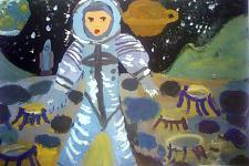 Автор: Егорова Лиза   Космическая целина