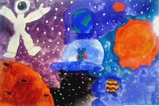 Автор: Пацерковская Вероника   Космическая целина