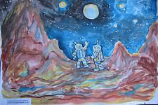 Автор: Гончаров Валерий   Космическая целина