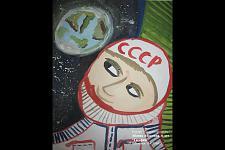 Автор: Абаева  Ангелина   Космическая целина