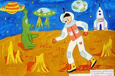 Автор: Булдакова Елизавета   Космическая целина