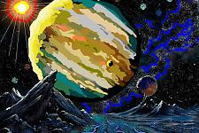 Автор: Кухальская Надежда   Космическая целина