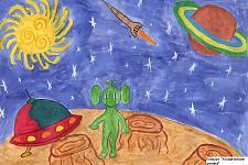 Автор: ���������� ����   Космическая целина
