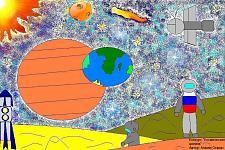 Автор: ������ ������   Космическая целина