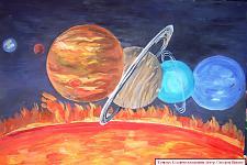 Автор: Слесарев Никита   Космическая целина