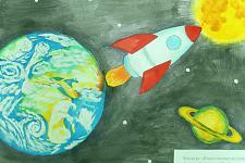 Автор: Бахтинова Дарья   Космическая целина