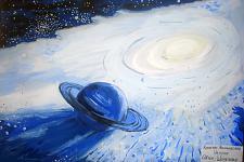Автор: Шарапова Лола   Космическая одиссея