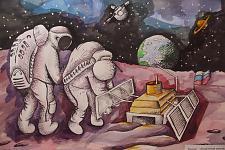 Автор: Дятлова Евгения    Космическая целина