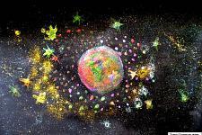 Автор: Кротова Настя   Космическая одиссея