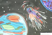 Автор: Вильданова Эльза   Космическая целина