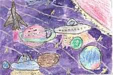 Автор: Бабушкина Ксения   Космическая целина