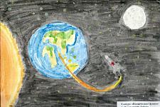 Автор: Гыйлметдинова Лейсан   Космическая целина
