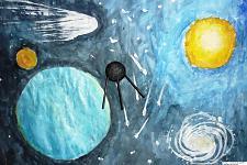 Автор: Назарова Лиза   Космическая одиссея