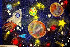 Автор: Цветкова Настя   Космическая целина