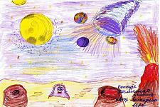Автор: Баландина Ира   Космическая целина