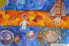 Автор: ����� �����   Космическая целина