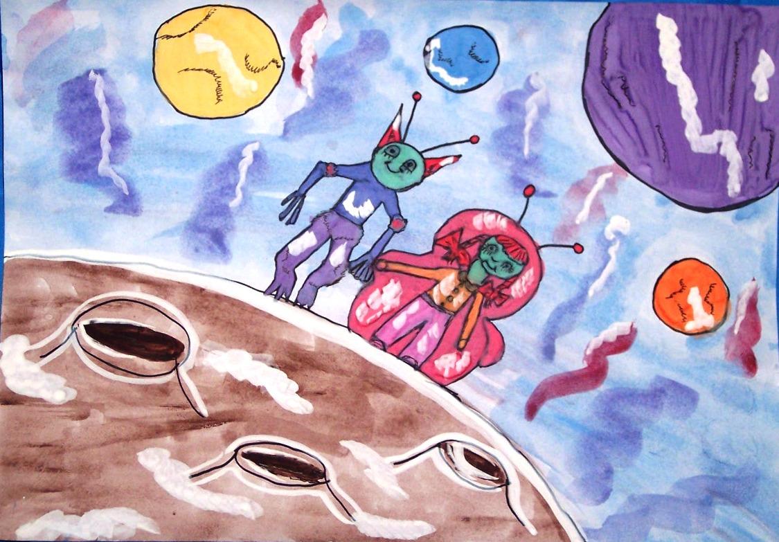 который рисунок пришельцы из космоса утверждают