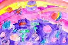 Автор: Саидова Мира   Космическая одиссея