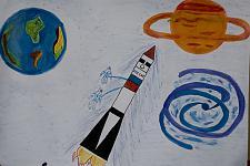 Автор: Будник И.   Космическая одиссея