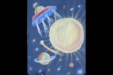 Автор: Харламова Д.   Космическая одиссея