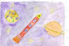 Автор: Кветная Даша   Космическая одиссея