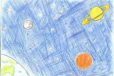 Автор: Прокопова А   Космическая одиссея
