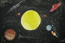 Автор: Селиванова Екатерина   Космическая одиссея