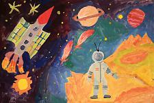 Автор: Ксения Саяпина   Космическая одиссея