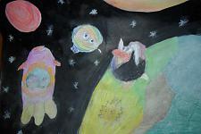 Автор: Шафикова Аделя   Космическая одиссея