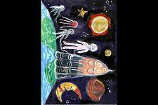 Автор: Шабалина Алиса   Космическая одиссея