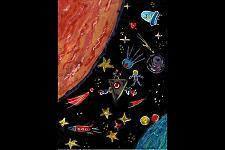 Автор: Инджиян Мария   Космическая одиссея