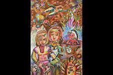 Автор: Танцова Настя   Космическая одиссея