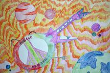 Автор: Папазян Лолита   Космическая одиссея