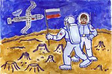 Автор: Алипов Дмитрий   Космическая одиссея