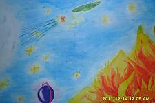 Автор: Карташова Ирина   Космическая одиссея