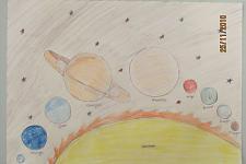 Автор: Клинчаева Даша   Космическая одиссея