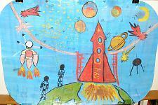Автор: Дети подготовительной группы МДОУ Детский сад № 137   Космическая одиссея
