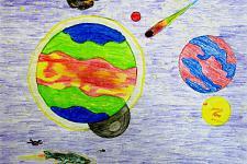 Автор: Кунафин Амир   Космическая одиссея
