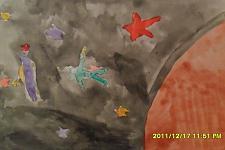 Автор: Маленко Эдуарда   Космическая одиссея