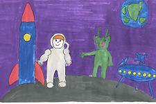Автор: Текунов Руслан   Космическая одиссея