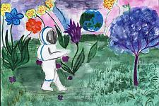 Автор: Вересова Яна   Космическая одиссея